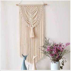 Macrame Wall Hanging Tapestry Boho New